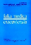 Folia Medica Cracoviensia, tom 51 (2010)